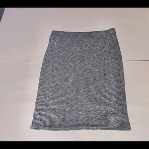 Stretchy dress skirt